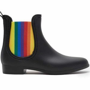 NWOT Catherine Malandrino Tabby Rainbow Rain boots